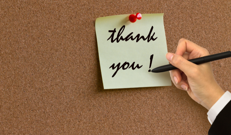 After the Interview: A Guide to Thank-You Notes